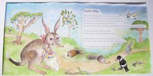 """Illustration for """"Easter Bilby"""" song"""