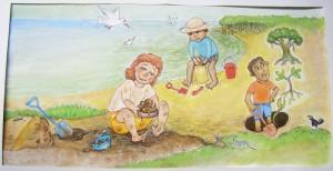 "Illustration for ""Digging"" song"