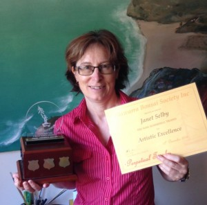 Awarded by Illawarra Bonsai Society for Artistc Excellence