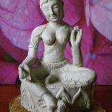 Model for Green Tara